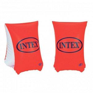 Нарукавники «Делюкс», 30 х 15 см, от 6-12 лет, 58641NP INTEX