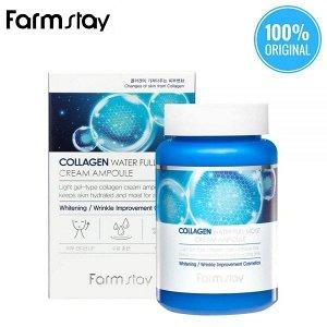Farm Stay Collagen Water Full Moist Ampoule Увлажняющий ампульный крем с коллагеном 250 мл