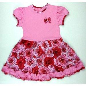Платье 7028/79 (крупные розы)