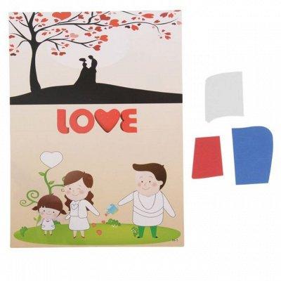 Семейное Творчество и Хобби! Увлекаем Детей !-3 — Аппликации — Хобби и творчество