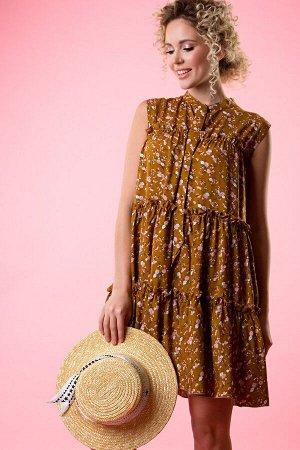 Платье Лилу из штапеля  (П-226-2)