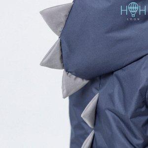 Жилет Дино с карманами, темно-синий