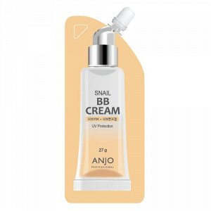 ANJO  Professional Snail BB Cream, SPF 50+, PA+++, ББ-крем для лица с экстрактом муцина улитки, 27 г