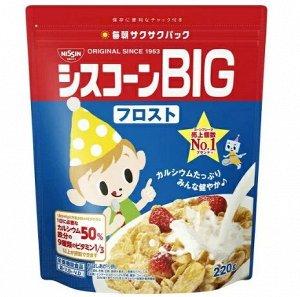 Кукурузные хлопья  Nissin Cisco 220 гр. пакет (Япония) СРОК ГОДНОСТИ ДО 28.02.2021