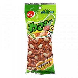 """Орешки """"Какинотане"""" с васаби. 70гр. (Япония)"""