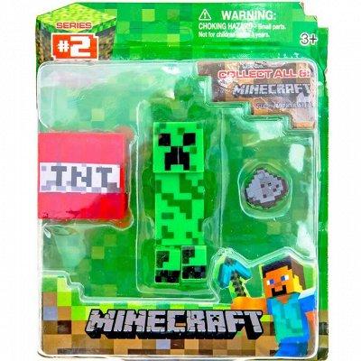 MINECRAFT и другие популярные игрушки — Фигурки — Конструкторы и пазлы