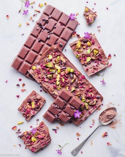 Вкусные сладости! Потрясающий зефир! Щербет! Нуга!  — Шоколад! — Шоколад