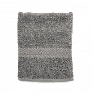 Полотенце банное 70*130 Spany, махровое, серое