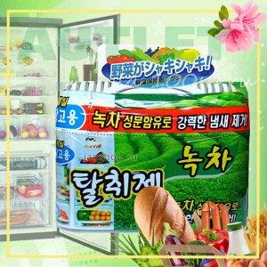 HAPPY ROOM - Поглотитель запахов для холодильников (зелёный чай), 150 гр