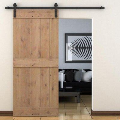 Кухонные аксессуары + Гардеробные системы + Фурнитура — Механизм для амбарной двери — Для дома