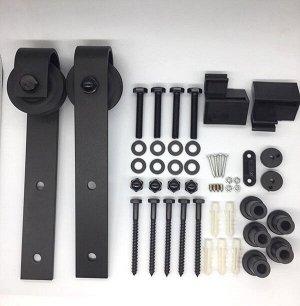 Комплект для подвесной амбарной двери L=2м черный