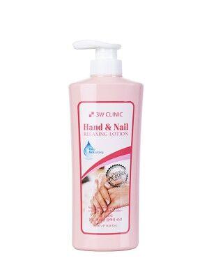 "3W CLINIC Лосьон для рук и ногтей ""Hand&nail lotion"", 550 мл"