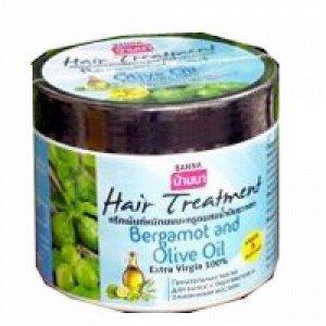 Маска для жирных волос с оливковым маслом и бергамотом