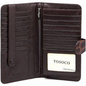 F11-009 кошелёк TOSOCO натуральная кожа