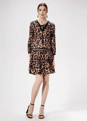 Платье Panda 468180 бежевый