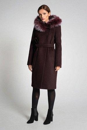 Пальто Gotti 166/3м бордовый