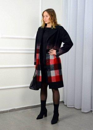 Пальто Пальто LM WO142  Состав ткани: ПЭ-15%; Шерсть-85%;  Рост: 164-170 см.   Пальто прошивается на заказ в течении 10 дней. Пальто женское однобортное oversize на подкладке. Линия плеча спущена, ру