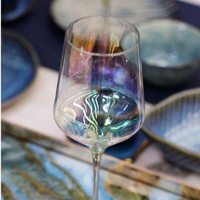 Самые модные, стильные бокалы из хрустального стекла — Бокалы и графины *в наличии* — Посуда для напитков