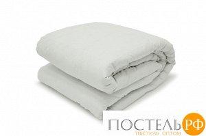 ШАЛЕ Одеяло пуховое  200х210, 1000 гр.,1пр. хл-плстр/пух серый