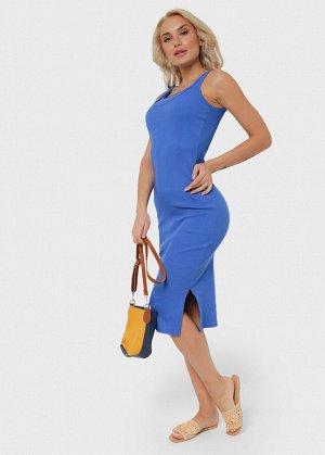 """Платье """"Кашкорсе"""" для беременных и кормящих; цвет: электрик"""