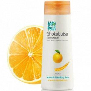 Крем-гель для душа Lion Shokubutsu Orange Peel Oil (Апельсин) /200ml.