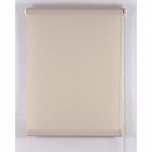 Рулонная штора «Комфортиссимо». 65х160 см. цвет серый