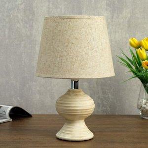Лампа настольная 320620/1 E14 40Вт кремовый 19,5х19,5х32 см