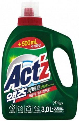 PIGEON ACT'Z Perfect Anti bacteria Концентрированный гель для стирки белья (с антибактериальными свойствами) 3500мл