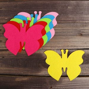 Основа для творчества и декорирования «Бабочка», набор 2 шт., цвета МИКС