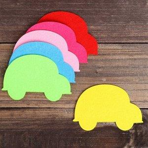Основа для творчества и декорирования «Машинка», набор 2 шт., цвета МИКС