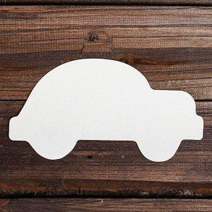 Основа для творчества и декора «Машина», набор 10 шт., размер 1 шт: 20?11 см