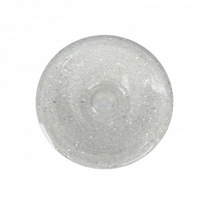 Декоративные блёстки LU*ART Lu*Glitter (сухие), 20 мл, размер 0.2 мм, белый, фракция