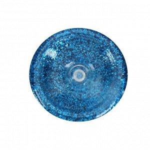 Декоративные блёстки LU*ART Lu*Glitter (сухие), 20 мл, размер 0.2 мм, голубой