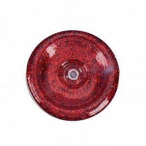 Декоративные блёстки LU*ART Lu*Glitter (сухие), 20 мл, размер 0.2 мм, красный