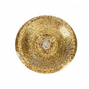 Декоративные блёстки LU*ART Lu*Glitter (сухие), 20 мл, размер 0.2 мм, золотой