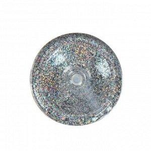 Декоративные блёстки LU*ART Lu*Glitter (сухие), 20 мл, размер 0.2 мм, голографическое серебро