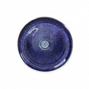 Декоративные блёстки LU*ART Lu*Glitter (сухие), 20 мл, размер 0.2 мм, синий