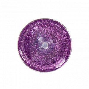 Декоративные блёстки LU*ART Lu*Glitter (сухие), 20 мл, размер 0.2 мм, фиолетовый