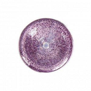 Декоративные блёстки LU*ART Lu*Glitter, 20 мл, размер 0.2 мм, розовый