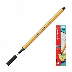 Ручка капиллярная STABILO Point 88, 0,4 мм, чернила чёрные