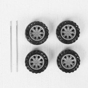 Набор колёс 4 шт., диаметр 5 см, 2 оси