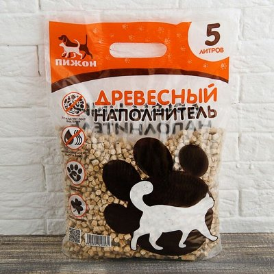 Пижон - для кошек - 20 — Древесные наполнители — Аксессуары