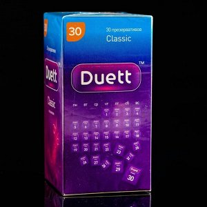 Презервативы DUETT classic 30 шт