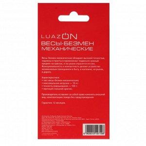 Безмен LuazON LVB-1001, механический, до 10 кг, цена деления 100 г, МИКС