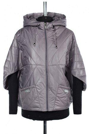 04-2531 Куртка демисезонная (синтепон 100) Плащевка серый
