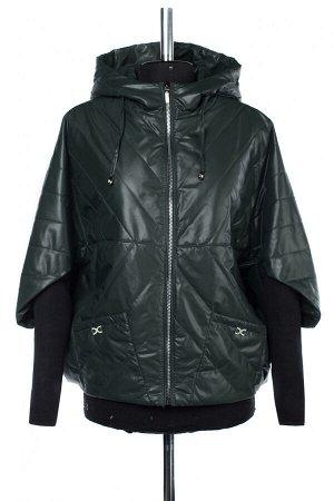 04-2533 Куртка демисезонная (синтепон 100) Плащевка темно-зеленый