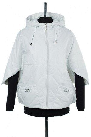 04-2532 Куртка демисезонная (синтепон 100) Плащевка белый