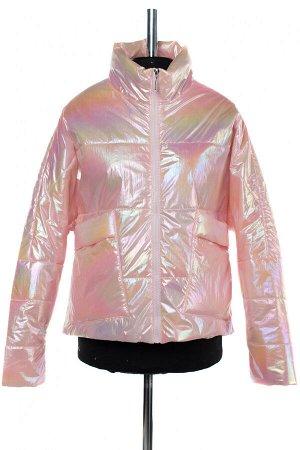 04-2524 Куртка демисезонная (синтепон 100) Плащевка розовый