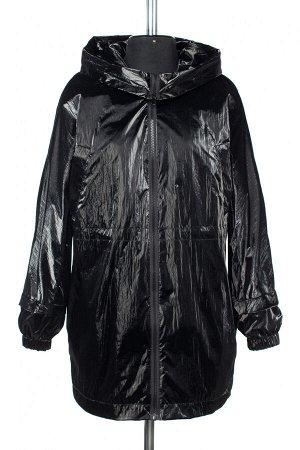 04-2521 Куртка ветровка демисезонная Плащевка черный