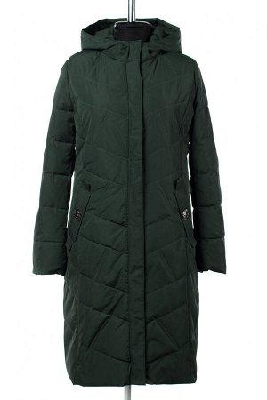 04-2511 Куртка демисезонная (синтепон 150) Плащевка Темно зеленый